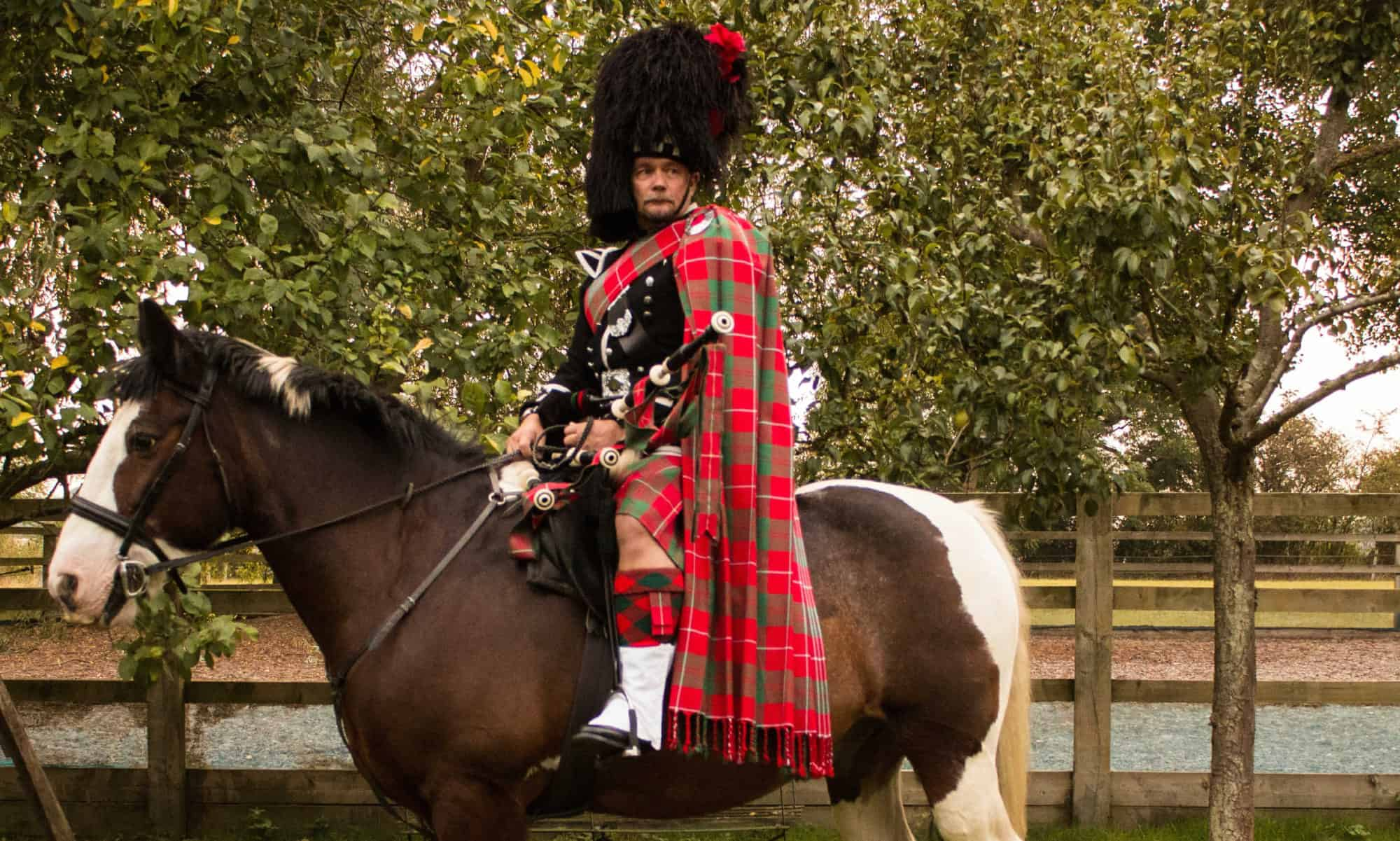 The East of England Bagpiper
